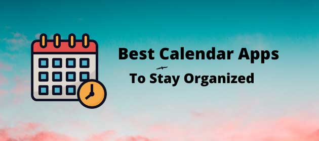 Top 5 Best Calendar Apps in 2020